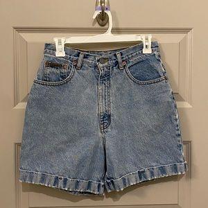 Vintage High Waisted CK Shorts
